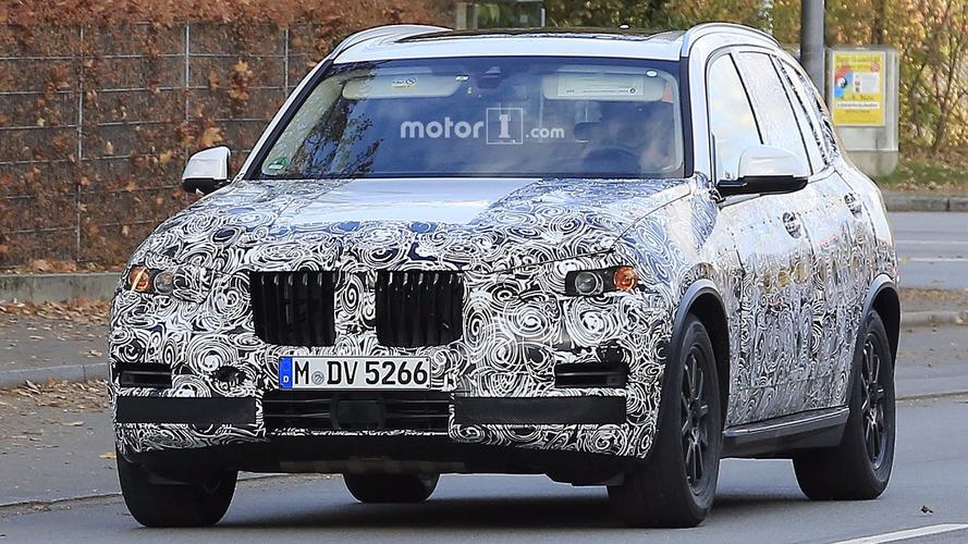 2018 BMW X5 2018 photos espion