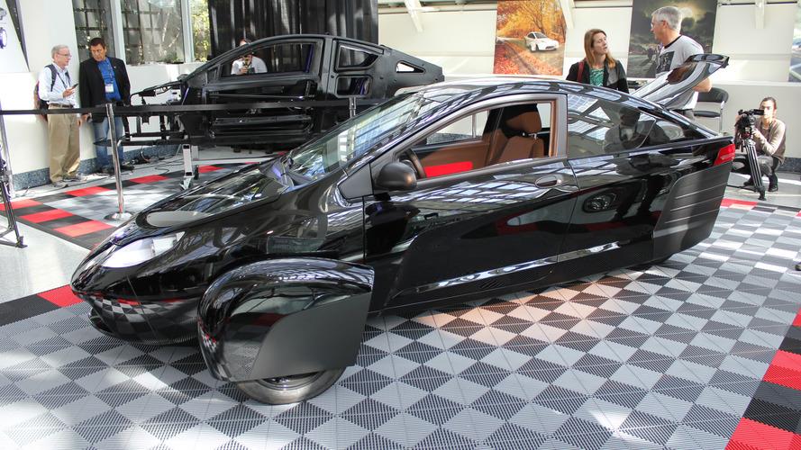 Los Angeles 2016 - Elio E1c, l'étrange voiture à 3 roues