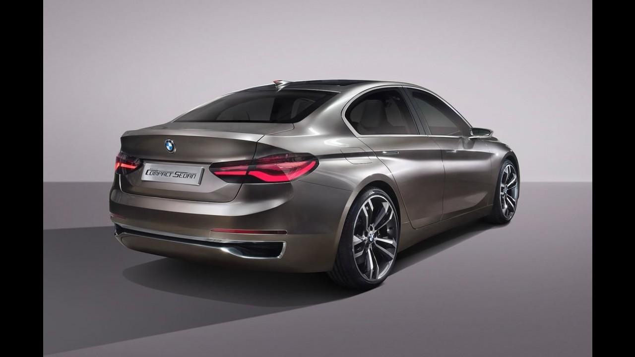 BMW revela inédito Série 1 Sedan, feito para brigar com Audi A3 e Mercedes CLA