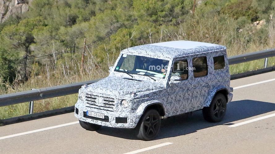 2019 Mercedes-AMG G63 spy photos