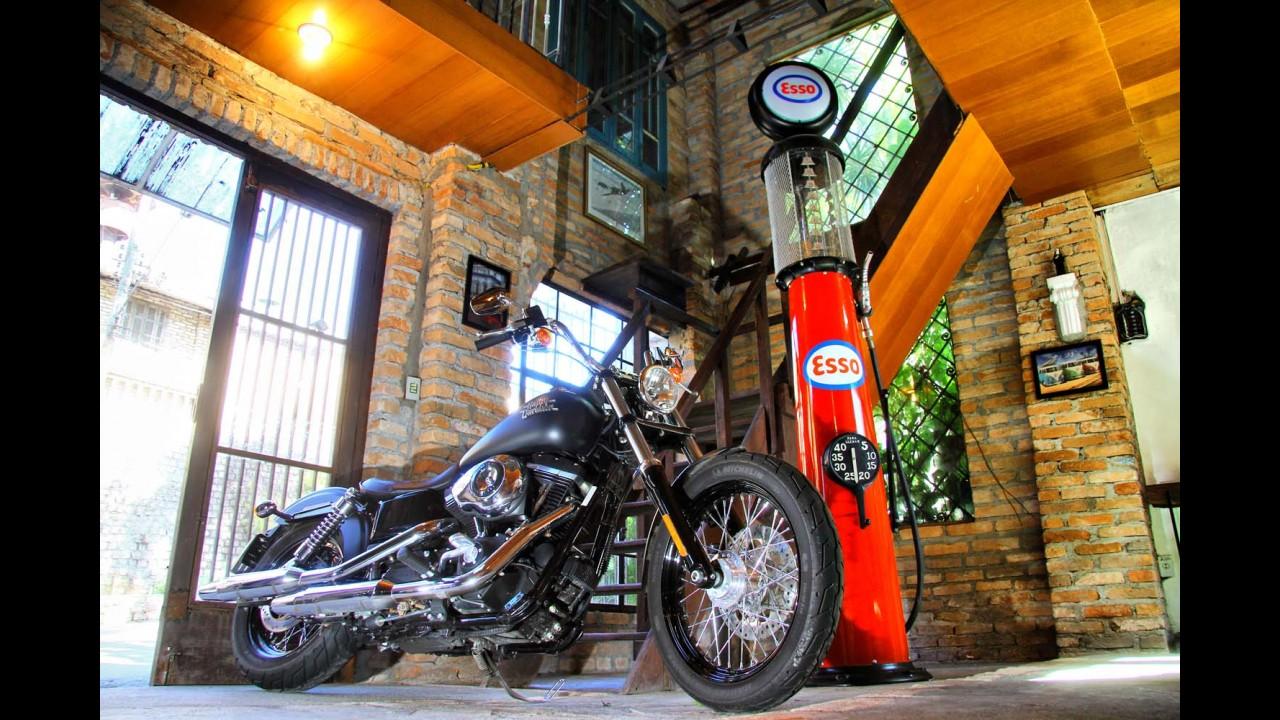 Avaliação: Harley-Davidson Street Bob é bad-boy no estilo, mas amiga na pilotagem