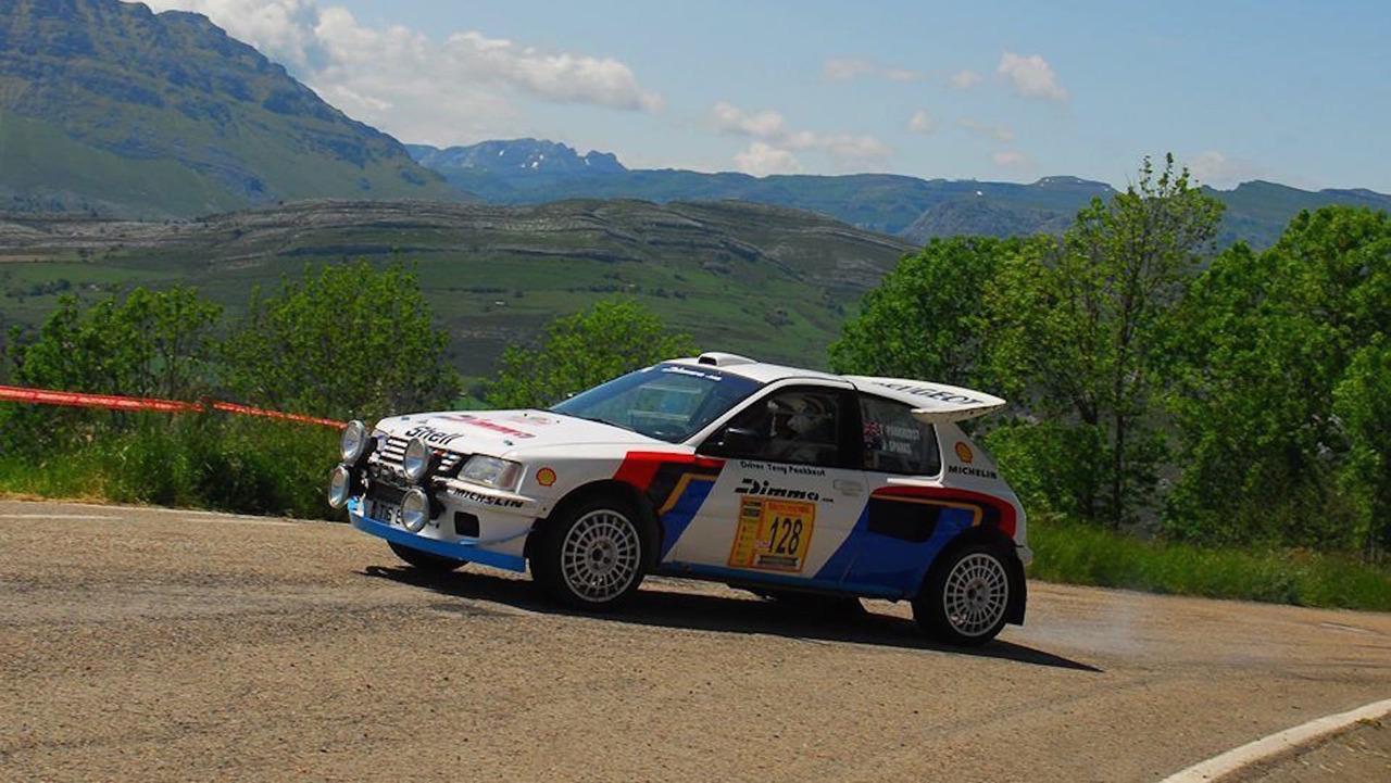 Peugeot 205 T16 Ralli Otomobili