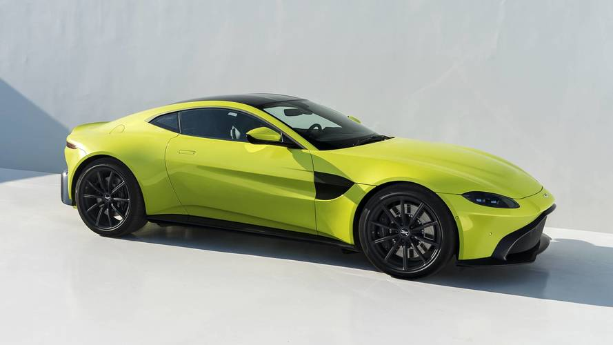 Aston Martin Says Vantage Exhaust Note Isn't 'As Crazy' As AMG's