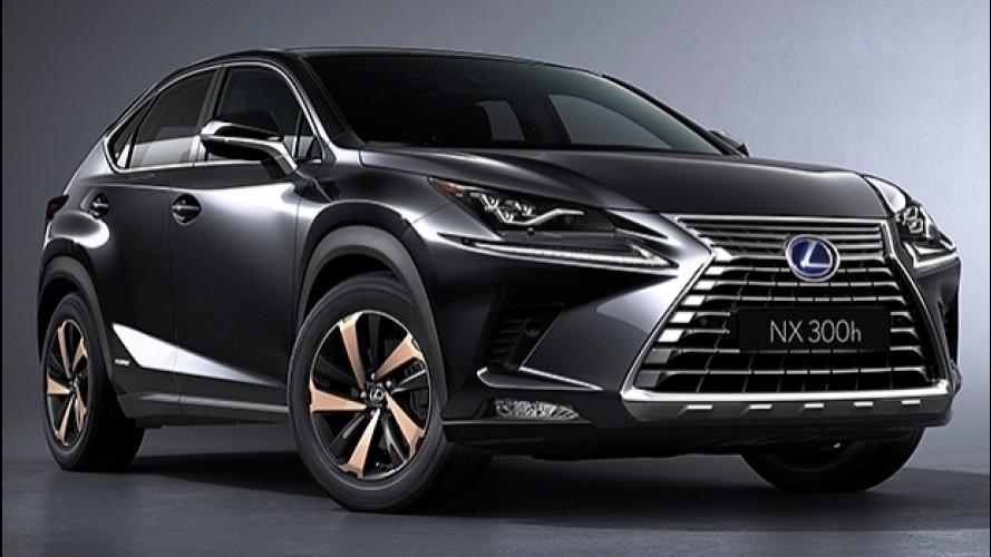 Lexus NX restyling, più