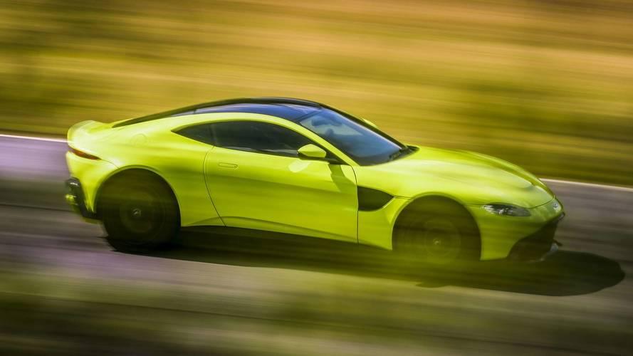 Aston Martin Vantage - Bientôt disponible avec une boîte manuelle