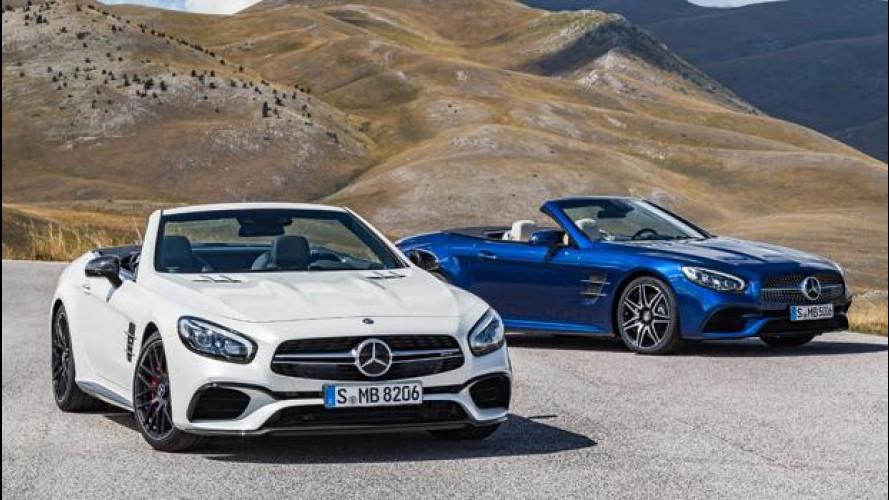 Mercedes SL restyling, più potente e con cambio 9 marce di serie