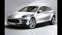 Nuova Porsche Cayenne, il rendering