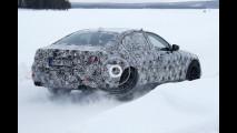 Nuova BMW M5, foto spia