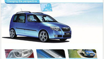 Skoda Roomster Web Site Draws Record-Visitors