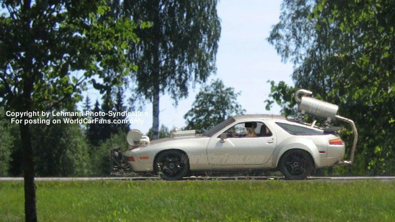 Porsche GT Coupetest prototype