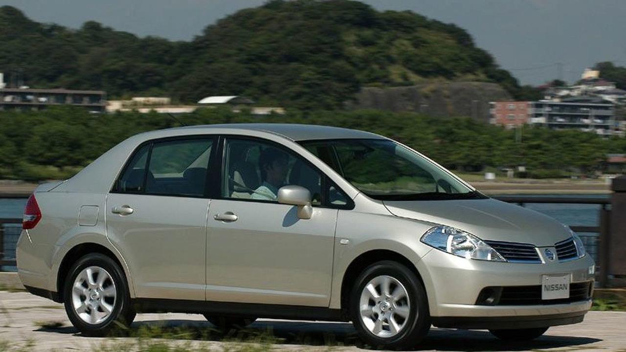 Nissan Tiida Latio Compact Sedan