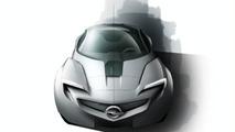 Opel Vauxhall Flextreme GT/E Concept first photos - 18.02.2010
