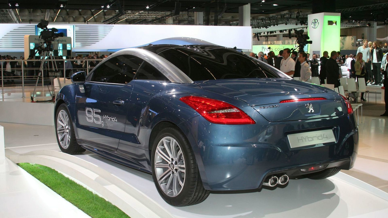 Peugeot RCZ HYbrid4
