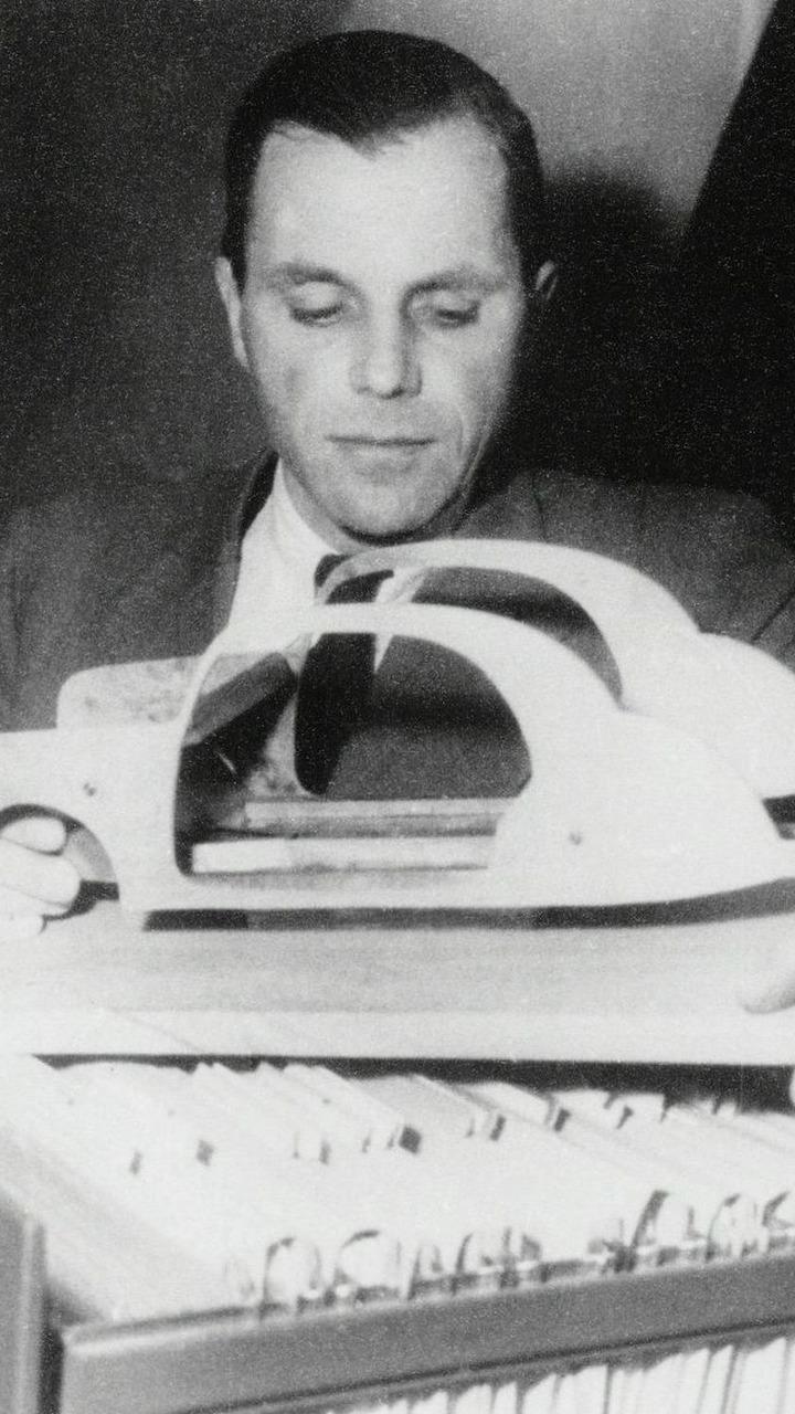 Mercedes-Benz safety engineering genius Bela Barenyi
