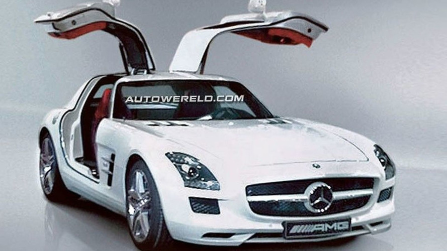 Mercedes SLS AMG Gullwing images leaked