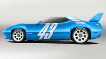 Plymouth Road Runner SUPERBIRD Concept artist rendering