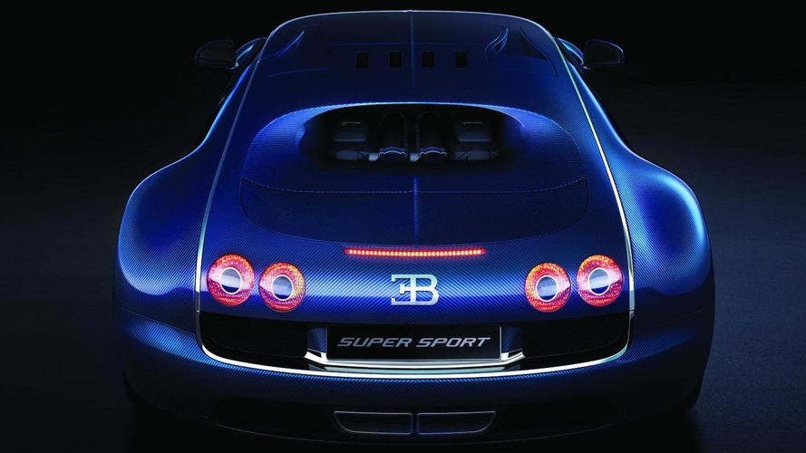 Bugatti Veyron Super Sport World Record Edition limited to 10 mph less than world record