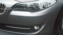2011 BMW 5-Series Partial Nose Photo Leaked