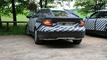 Saab 9-5 Spied with Undisguised Front & Rear Lights