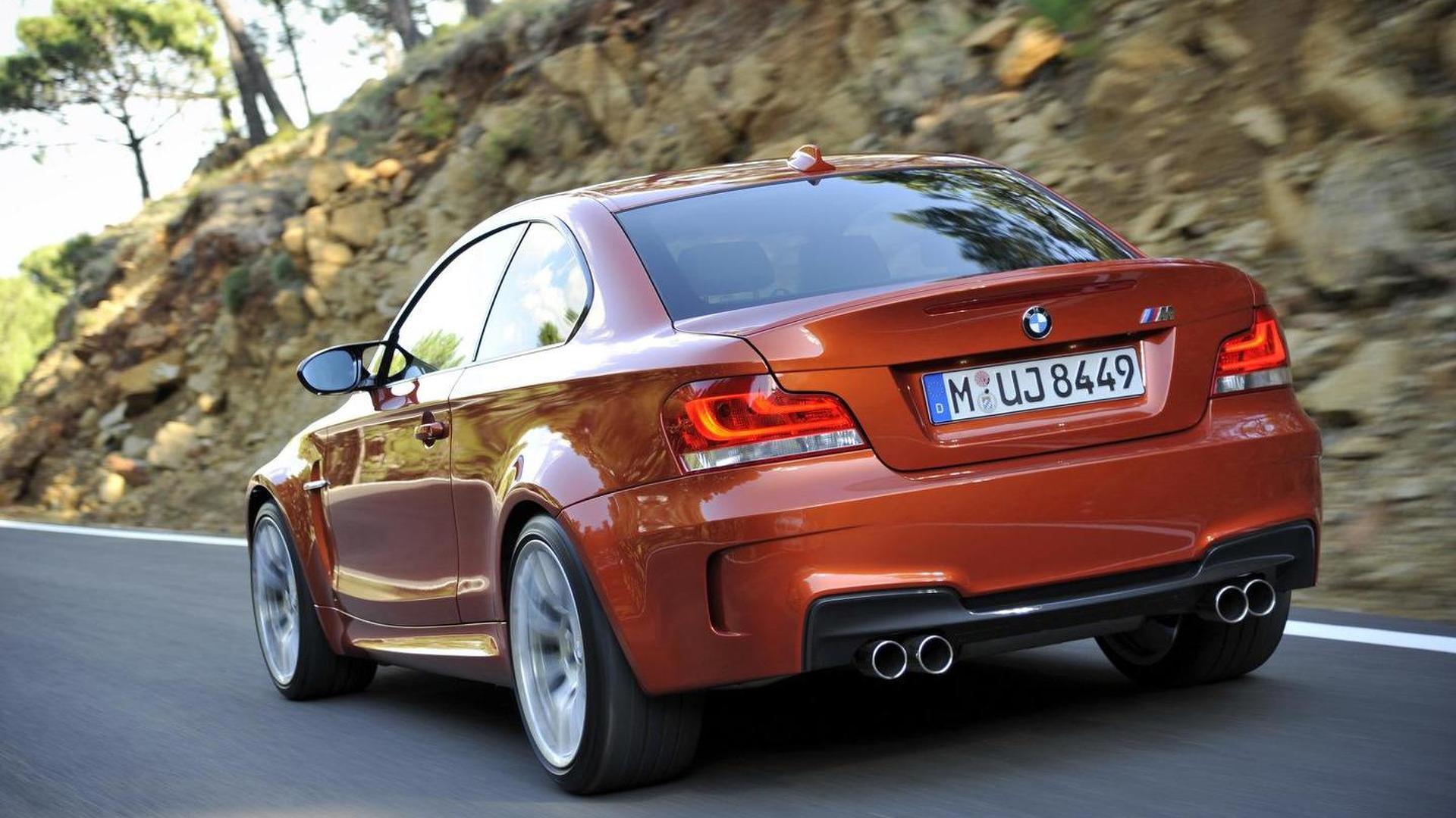 BMW M Faster Around Hockenheim Than M - Bmw 1 series m coupe