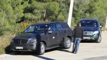 Mercedes-Benz ML testing 08.12.2010