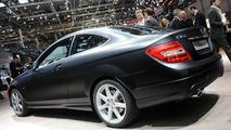Mercedes-Benz C 350 Coupe BlueEFFICIENCY live in Geneva - 01.03.2011