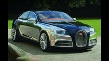 Bugatti 4 kapılı bir sedan üretebilir