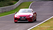 2018 Lexus LC500 Nürburgring video