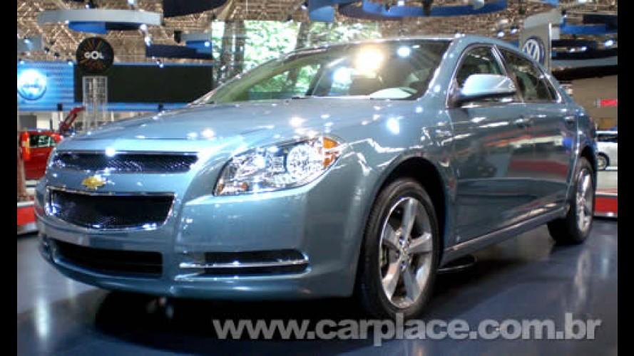 Salão do Automóvel 2008 - Chevrolet mostra o novo sedan Malibu Híbrido
