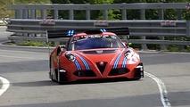 Alfa Romeo 4C hillclimb car