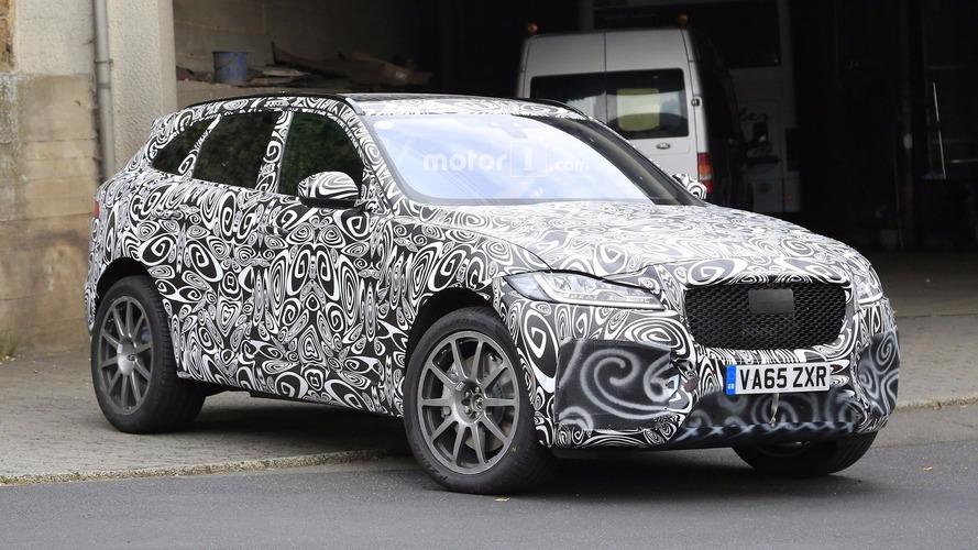 Jaguar F-Pace SVR geliyor, işte kanıtı