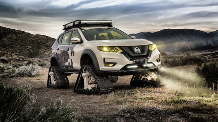 Nissan Rogue Trail Warrior Project: para divertirse conduciendo... sin ruedas