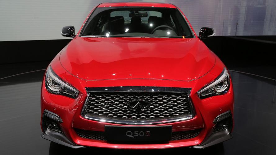 Infiniti Q50 get modest facelift, self-driving tech for Geneva