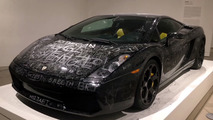 Lamborghini Gallardo Keyed Art