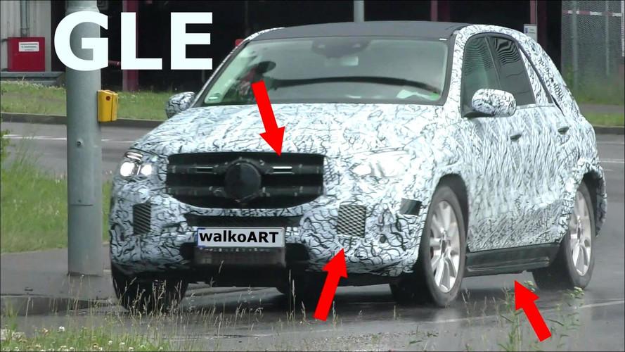 2019 Mercedes GLE daha az kamuflajla karşımızda