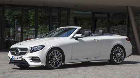 2018 Mercedes-Benz E-Class Cabriolet First Drive