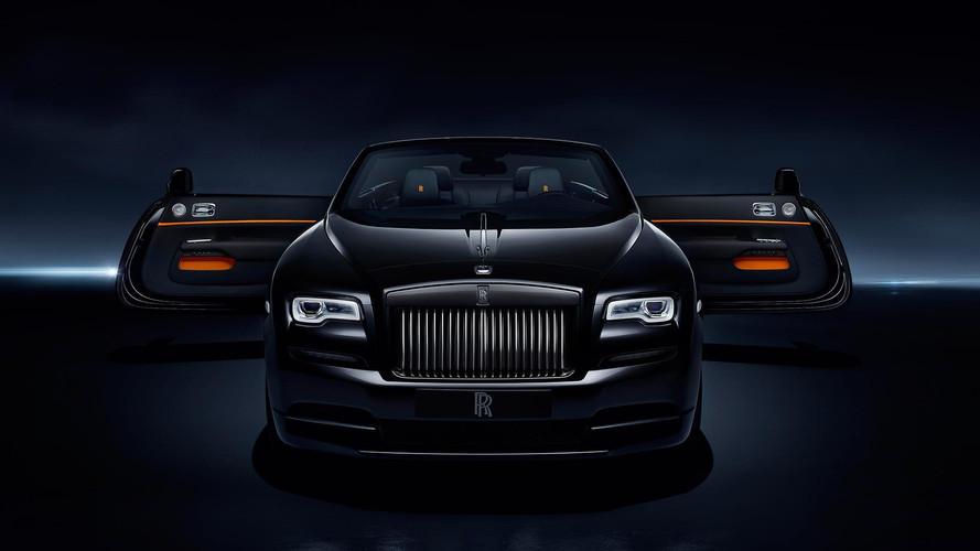 Rolls-Royce Unveils New Dawn Black Badge