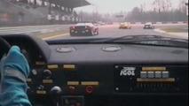 Ferrari F40 vintage video