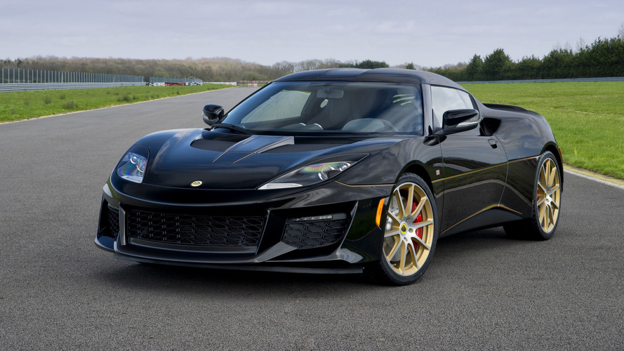 Lotus Evora Sport 410 GP Edition Dresses In Classic F1 Attire