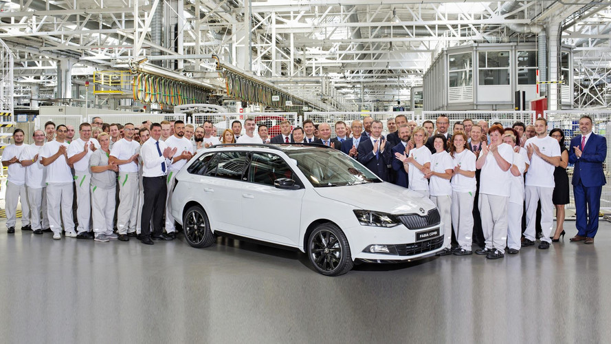 Škoda a produit quatre millions de Fabia