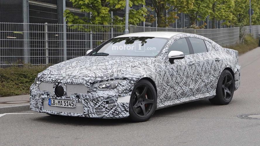 Four-Door Mercedes-AMG GT Sedan Spied Up Close