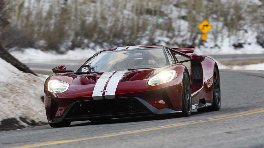 Ford GT Sets A Faster Lap Time Than Porsche 918 Spyder At VIR