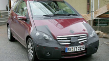 Mercedes A Class Facelift Spotted