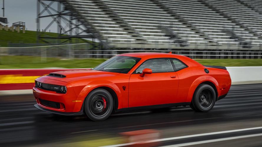 Dodge Challenger SRT Demon Won't Be Coming Back For 2019MY