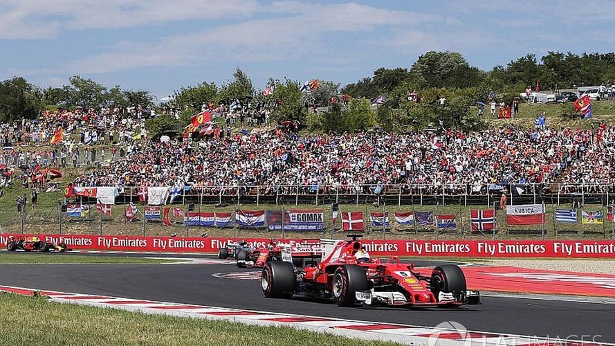 Vettel ganha na Hungria apesar de drama no final