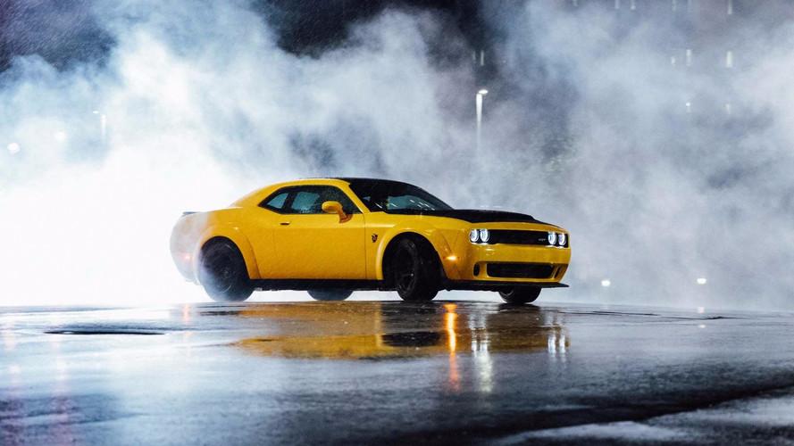 Dodge Demon drift de yapabiliyormuş