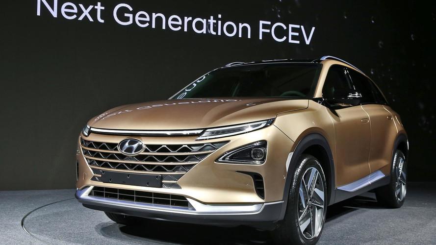 Közel 600 km-es hatótávval debütált a Hyundai üzemanyagcellás SUV-ja