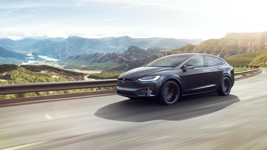 Tesla Model X photos officielles