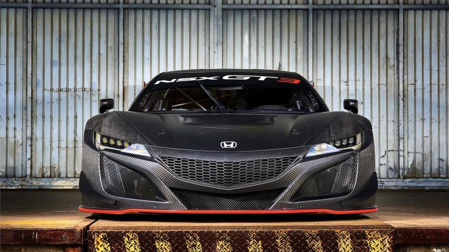 GT3-as versenyváltozat a Honda NSX-ből privát csapatoknak