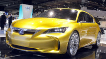 Lexus LF-Ch full hybrid concept World debut at 2009 Frankfurt Motor Show